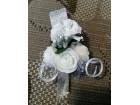 Cvetici za kicenje svatova - hand made
