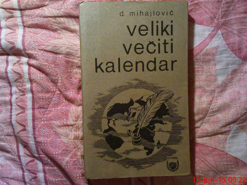 D. MIHAILOVIC -VELIKI  VECITI KALENDAR