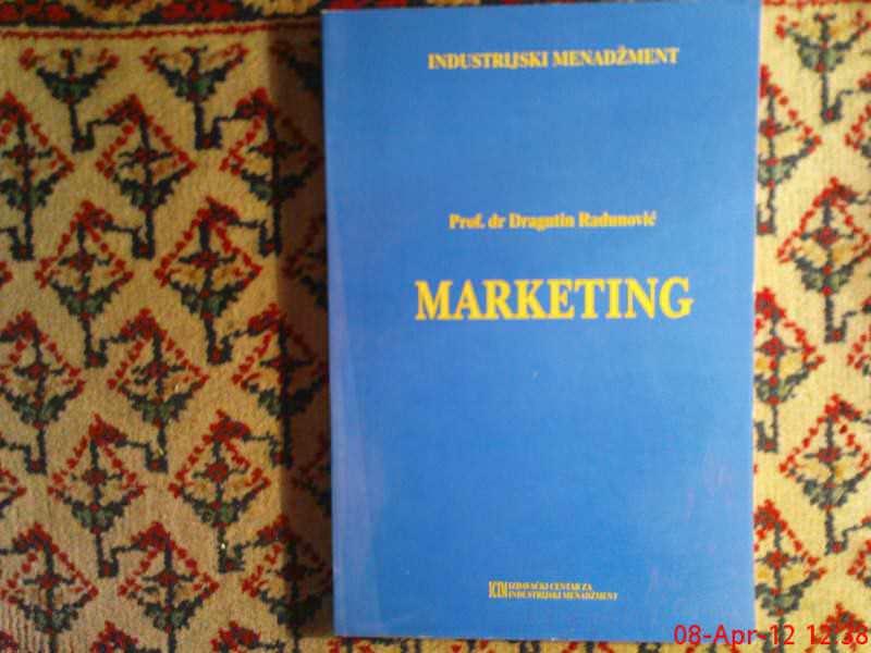 D. RADUNOVIC -- MARKETING