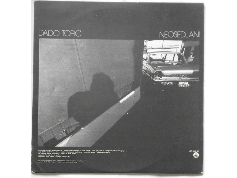 DADO  TOPIC  -  2LP  NEOSEDLANI