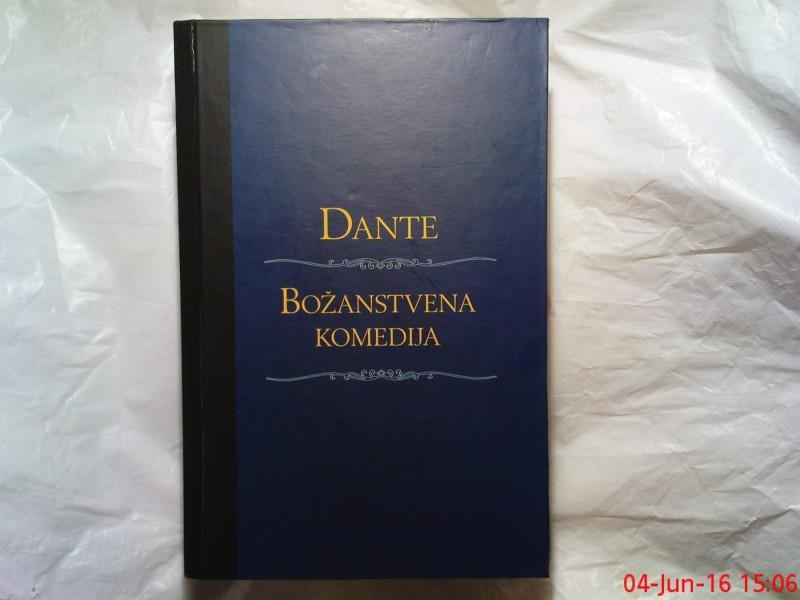 DANTE ALIGHIERI --  BOZANSTVENA  KOMEDIJA