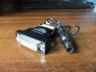 DB25 muski na DB9 serisjki na S-video kabl / adapter