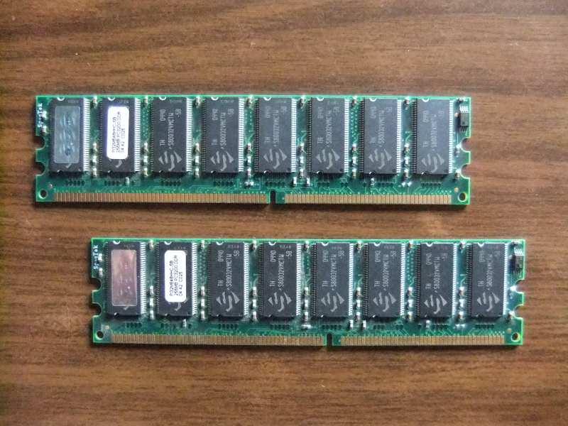 DDR1 400 Mhz SpecTek 512 (2x256Mb uparene) + GARANCIJA