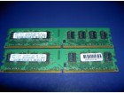 DDR2  4GB  / 2 X 2GB /   SAMSUNG