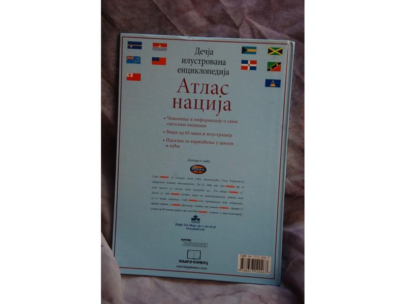 DECIJA ILUSTROVANA ENCIKLOPEDIJA - Atlas nacija