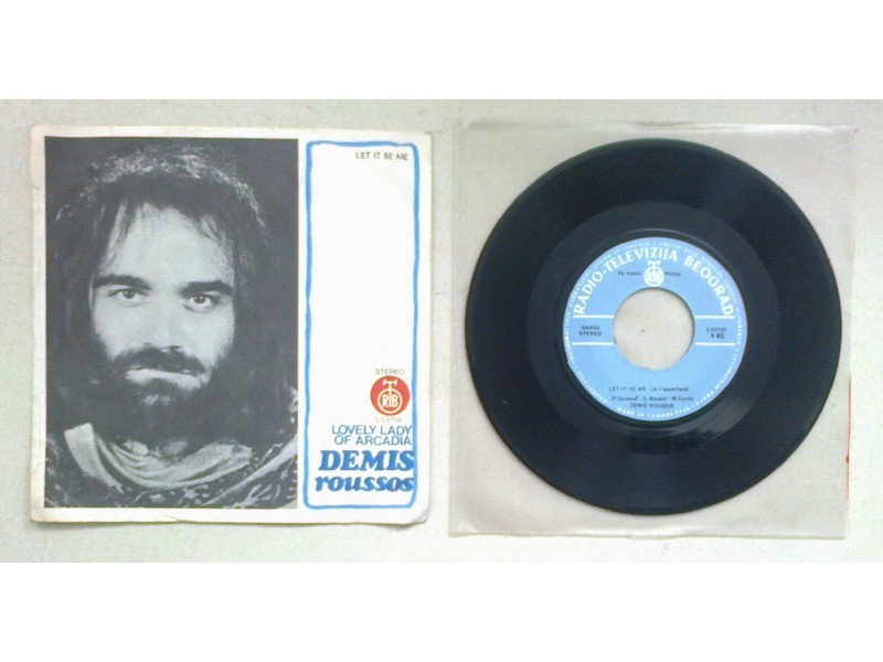DEMIS ROUSSOS - Lovely Lady Of Arcadia (singl) licenca