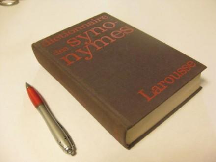 DICTIONNAIRE DES SYNONYMES LAROUSSE