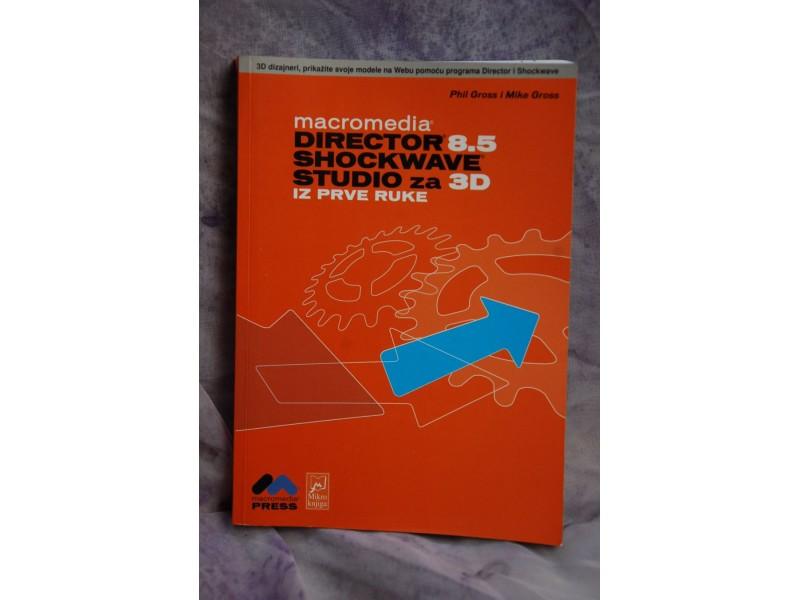DIRECTOR 8.5 SHOCKWAVE STUDIO ZA 3D