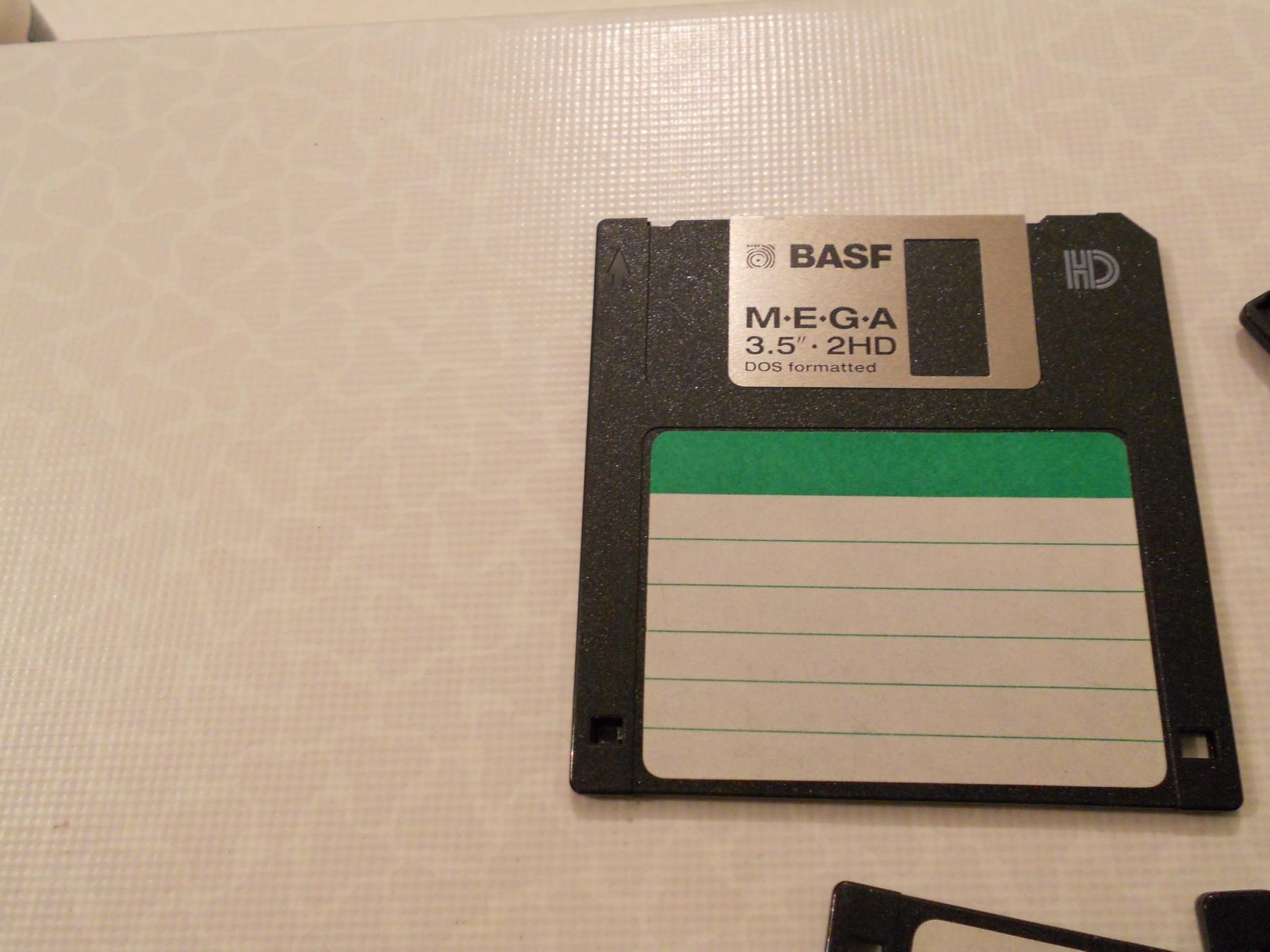 diskete basf 3 5 floppy disk 10 1. Black Bedroom Furniture Sets. Home Design Ideas