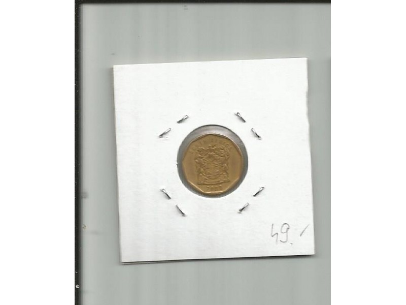 DK1 South Africa 10 cents 2000.