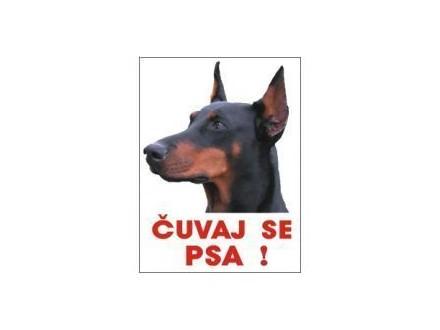 DOBERMAN  -Čuvaj se psa