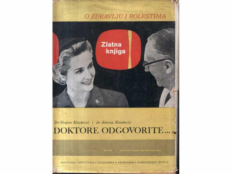 DOKTORE ODGOVORITE- Dr Stojan i Dr Jelena Knežević