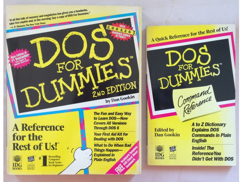 DOS for Dummies-2nd edition