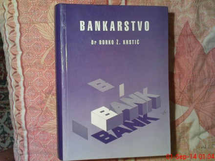 DR. BORKO Z. KRSTIC -   BANKARSTVO