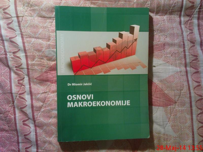 DR. MIOMIR  JAKSIC -  OSNOVI  MAKROEKONOMIJE