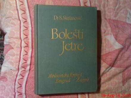 DR . S . STEFANOVIC -  BOLESTI  JETRE