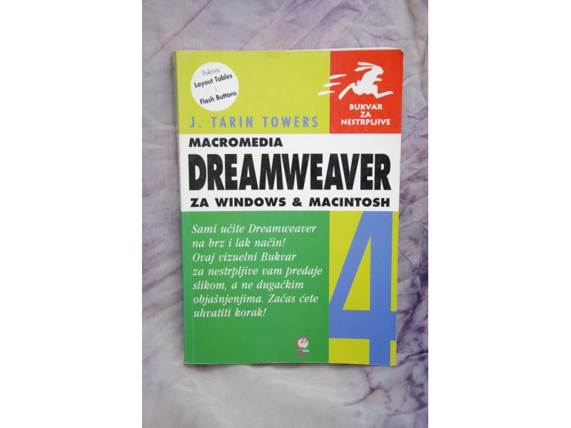 DREAMWEAVER za windows i macintosh - J. Tarin Towers