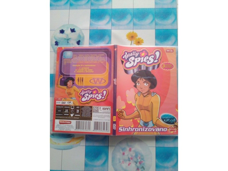 DVD CRTANI FILM - TOTALLY SPIES 3