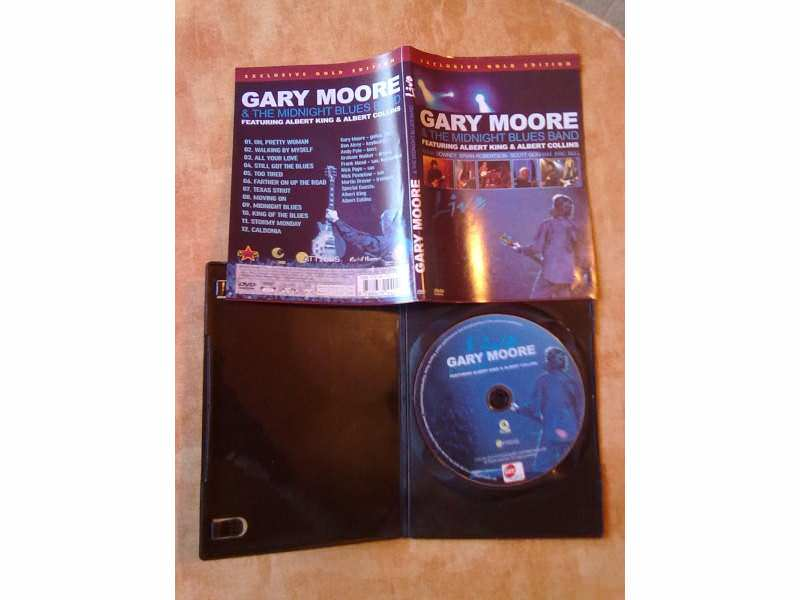 DVD Gary Moore - Live At Montreux 1990