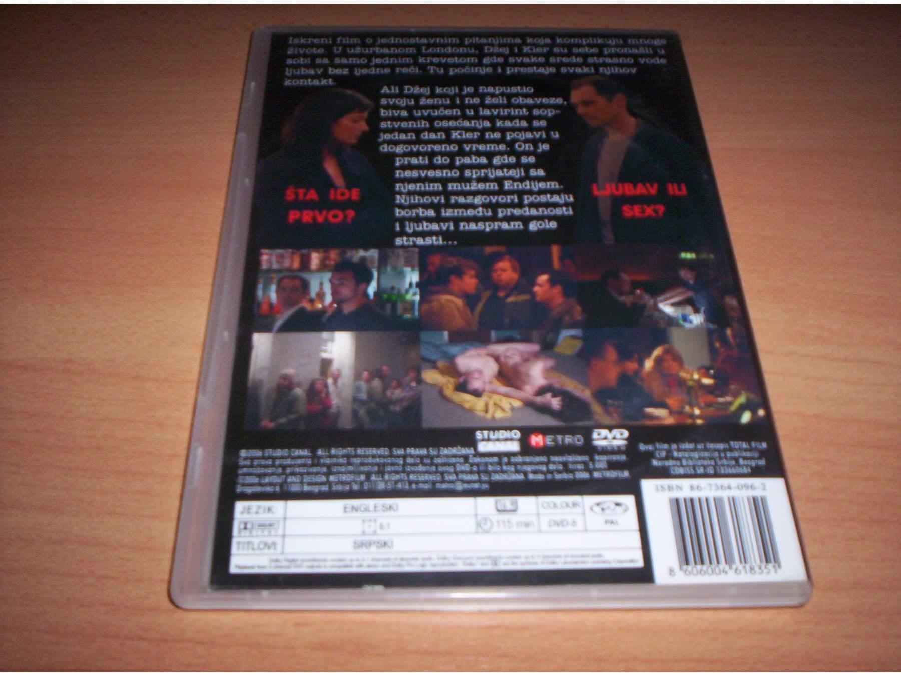(2001) intimacy Intimacy movie