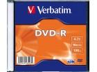 DVD-R Verbatim, 16x, u slim kutiji