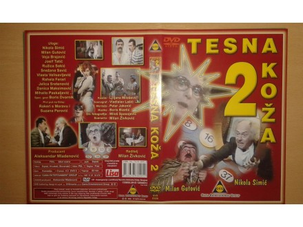 DVD originalan omot za film TESNA KOZA 2