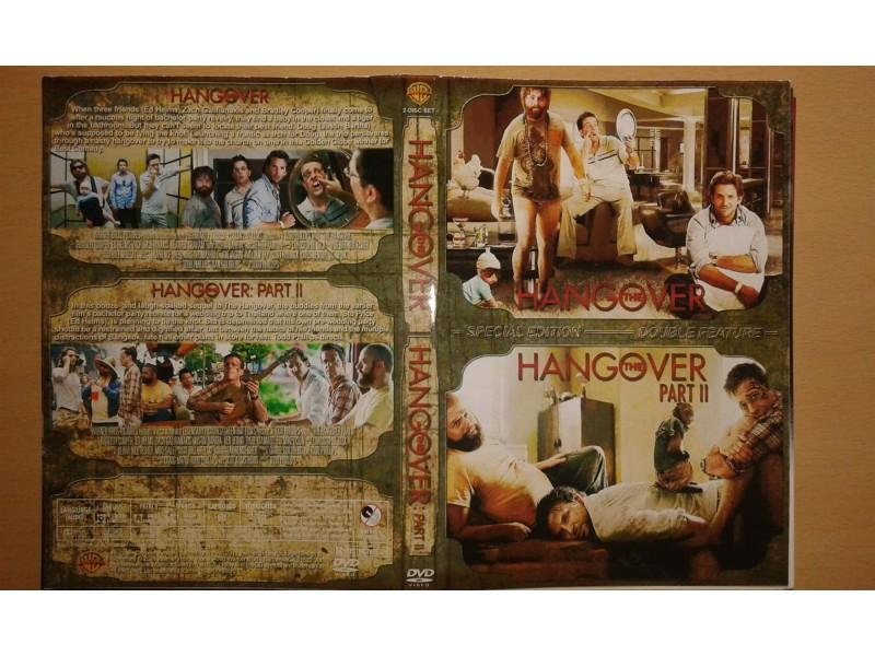 DVD originalan omot za filmove THE HANGOVER I i II