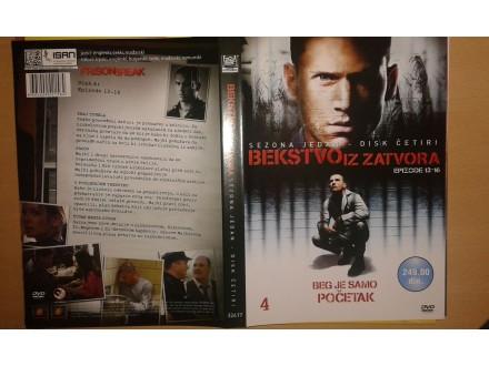 DVD originalan omot za seriju BEKSTVO IZ ZATVORA (4)