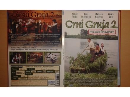 DVD originalan omot za seriju CRNI GRUJA sezona 2