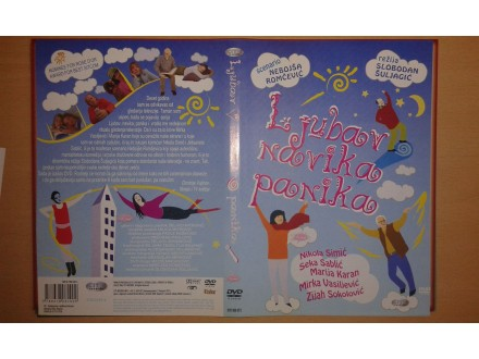 DVD originalan omot za seriju LJUBAV, NAVIKA, PANIKA