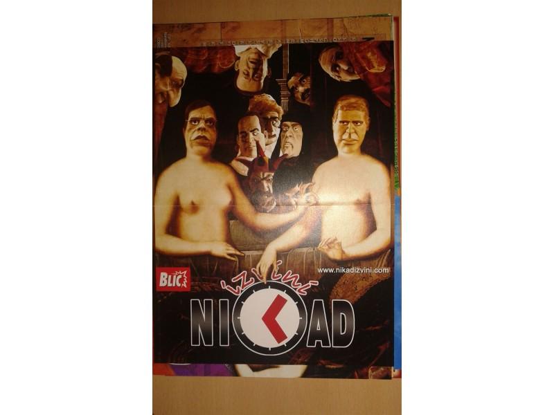 DVD originalan omot za seriju NIKAD IZVINI + poklon