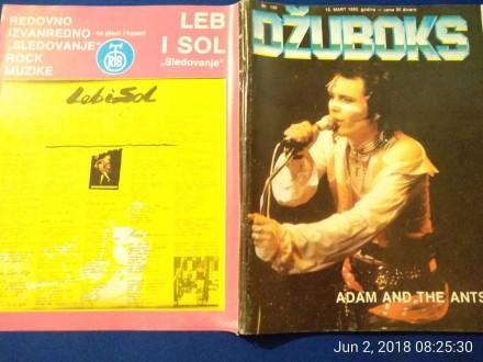 DŽUBOKS 136, 1982