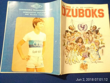 DŽUBOKS 67, 1979