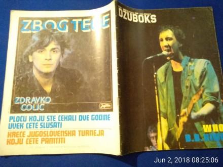 DŽUBOKS 99, 1980