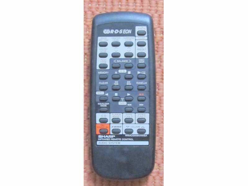Daljinski Sharp RRMCG0094AWSA odlican
