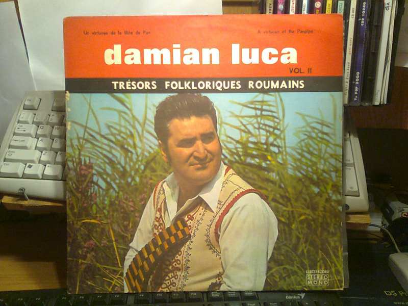 Damian Luca - Un Virtuose De La Flûte De Pan Vol. II / A Virtuoso Of The Pan-Pipe Vol. II