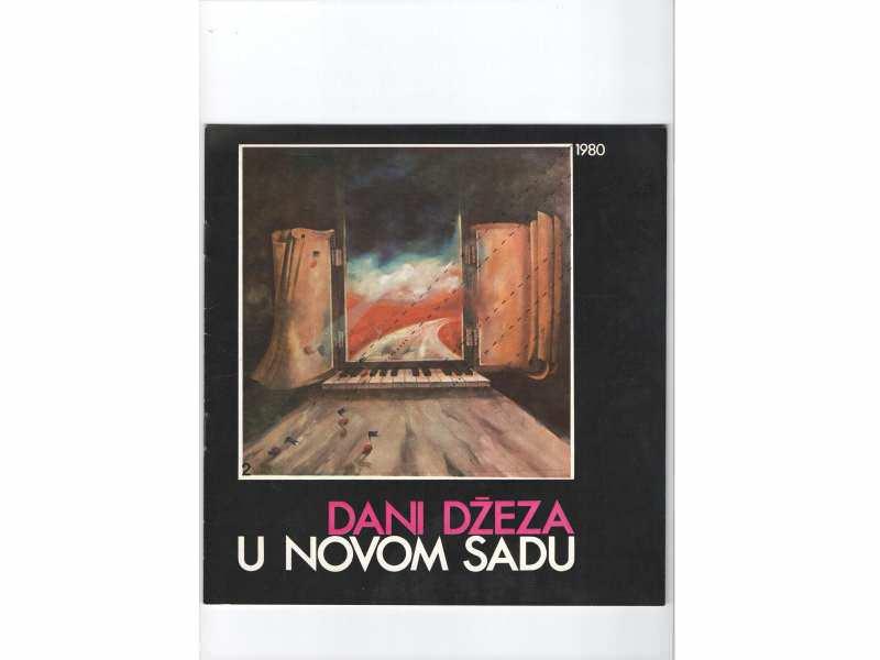 Dani dzeza u Novom Sadu 1980 - program