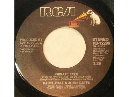 Daryl Hall & John Oates - Private Eyes / Tell Me What You Want