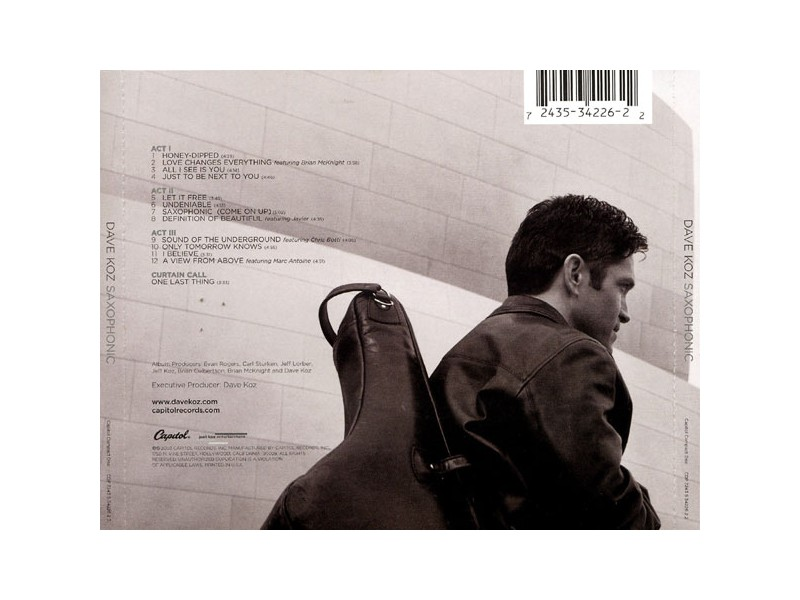 Dave Koz - Saxophonic