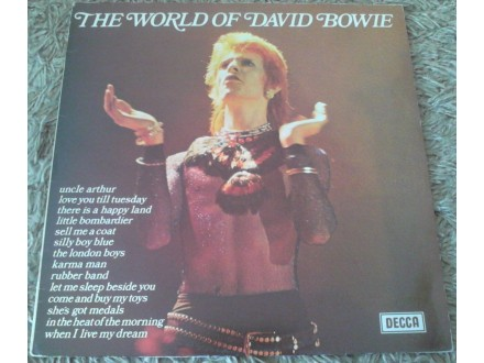 David Bowie ‎– The World Of David Bowie (LP)
