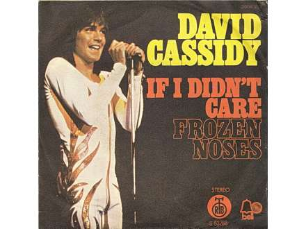 David Cassidy - If I Didn`t Care / Frozen Noses