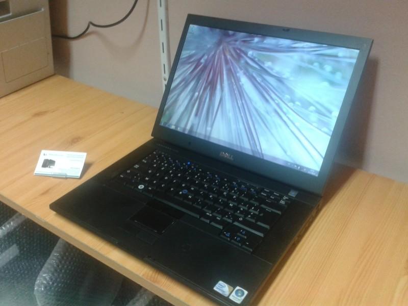 DeLL E6500 Core2Duo, DDR2, 15.4` ekran!