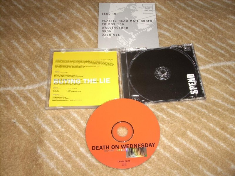 Death On Wednesday - Buying The Lie CD