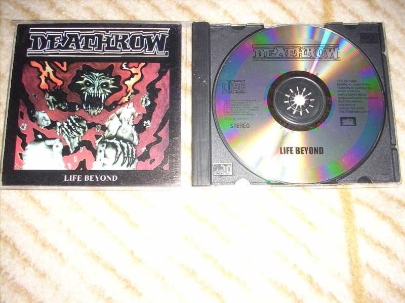 Deathrow - Life Beyond CD