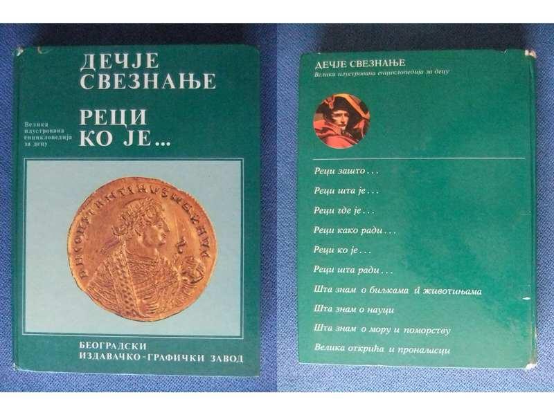 Decije Sveznanje Reci Ko je - enciklopedija za decu