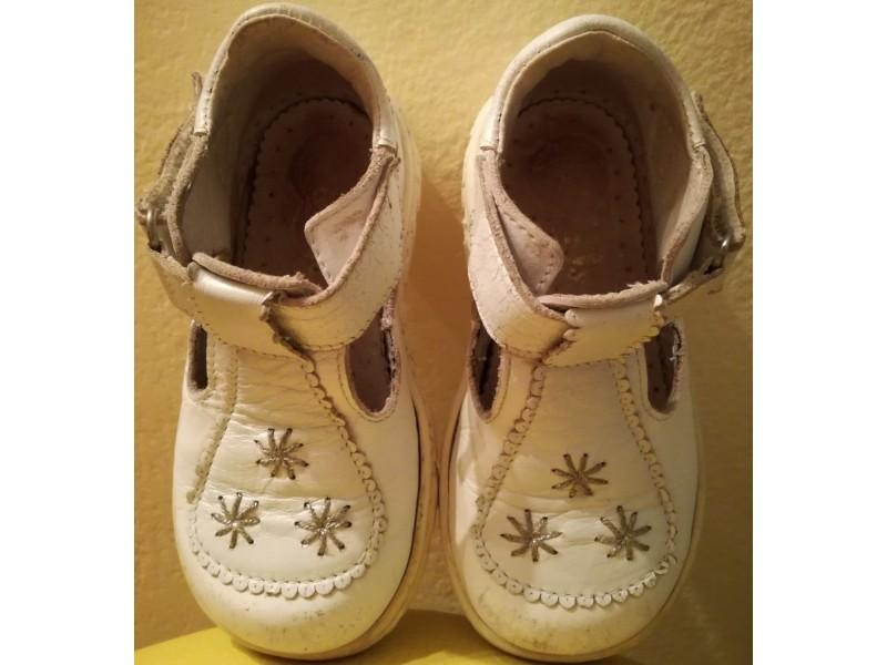 Dečije kožne, anatomske sandale br. 23