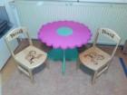 Decije stolice i stocici  od drveta po narudzbini