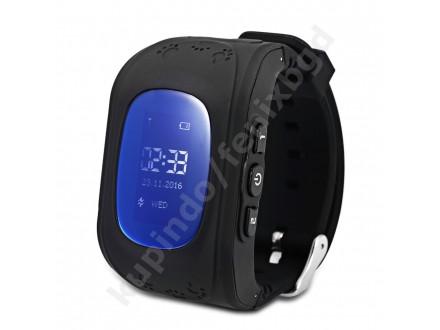 Dečiji GPS smart sat - CRNI