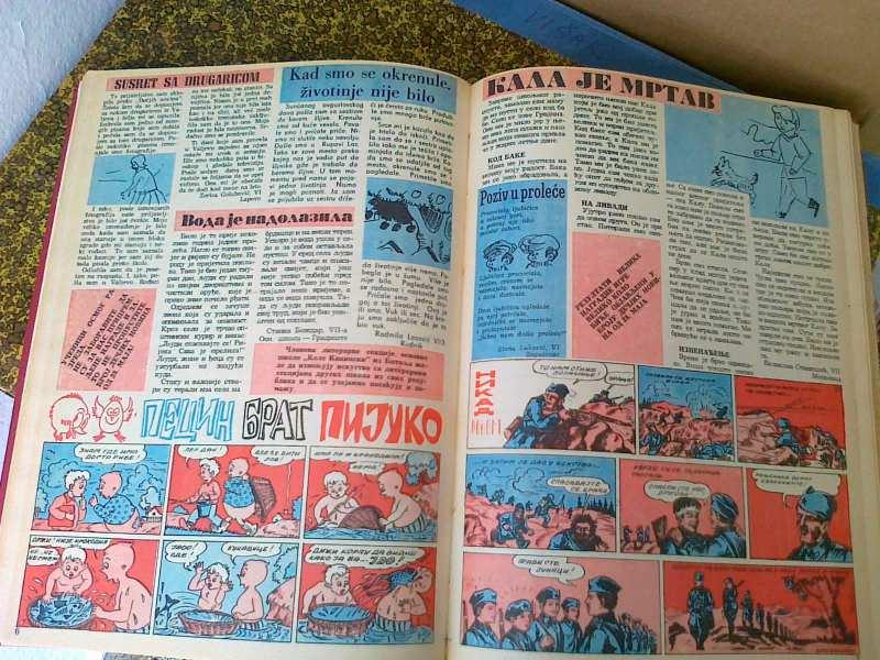 Dečje novine 1963-1966 godina + poklon