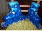 Dečji roleri, veličina 32-35, plave